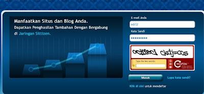 Cara Memasang Iklan Sitti di Blog