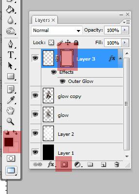 glow23 Penggunaan efek glow di Dance Ray dengan photoshop