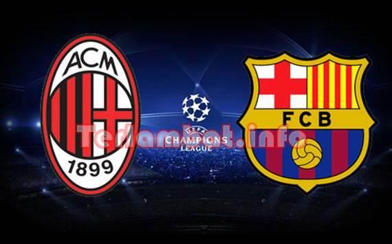 AC Milan VS Barcelona 2013