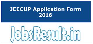 JEECUP Application Form 2016