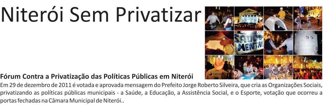 Niterói Sem Privatizar
