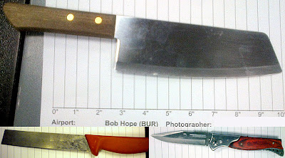 Knives Discovered at BUR