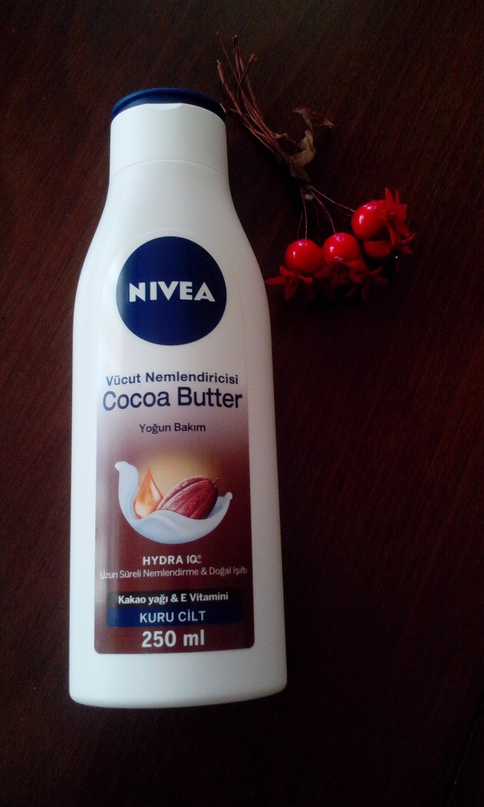 nivea cacao butter