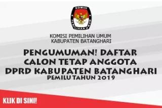 DCT DPRD Kabupaten Batanghari