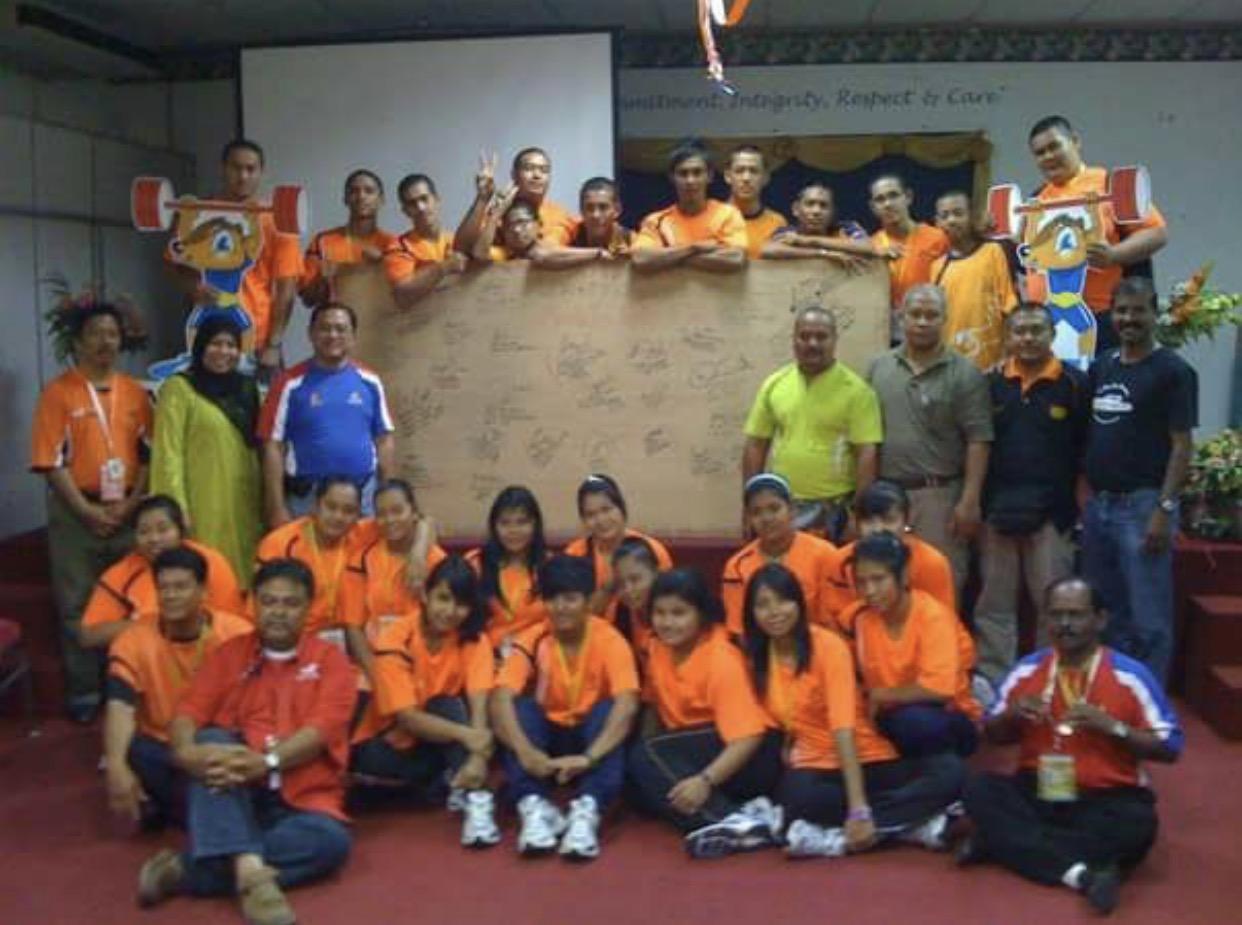 Team a/brt kelantan ke SUKMA MELAKA 2010