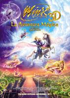 Cartel de la película Winx 3D: La aventura mágica