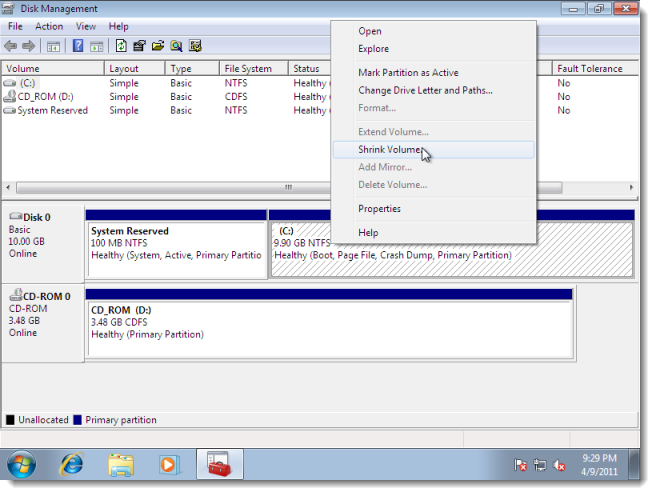 how to create a hard drive format disk