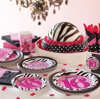 Zebra Print Theme Party