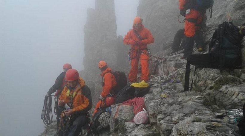 Νέα τραγωδία στον Όλυμπο αφού δεν το κατέχουν το άθλημα όλοι: Εντοπίστηκε νεκρός ορειβάτης - Σώος ο συνοδοιπόρος του