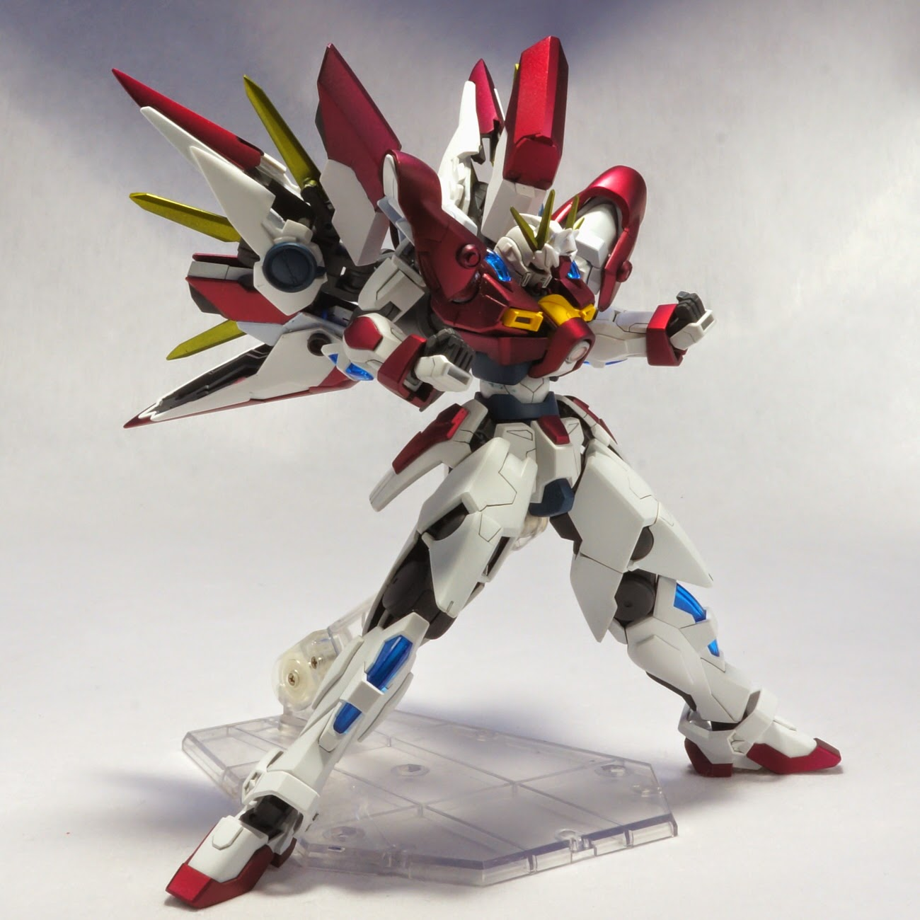 Custom Build 1 144 Build Blazing Gundam Gundam Kits Collection News And Reviews