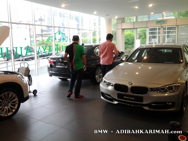 Premium beautiful top GLG agents at BMW to test drive new F30