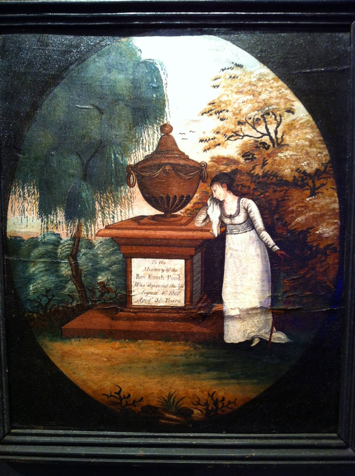 THE EDUCATED GENEALOGIST Unusual Records Of Death Mourning Paintings