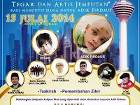 Iftar Ramadhan 2014 at Menara Kuala Lumpur to Raise Funds for Adik Firdaus