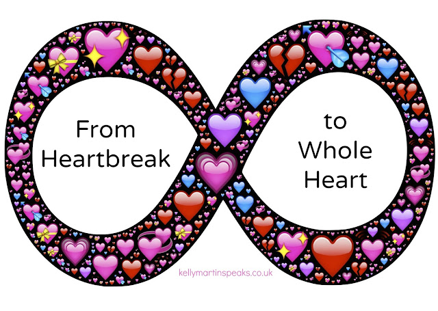 From Heartbreak to whole heart infinity