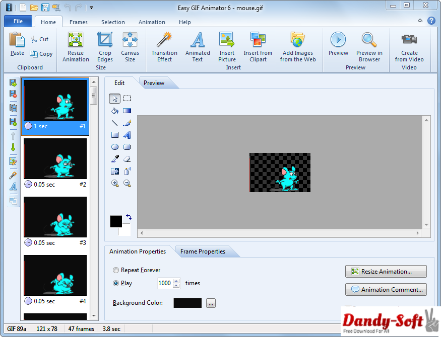 Blumentals Easy GIF Animator 6.1 Pro Full Version