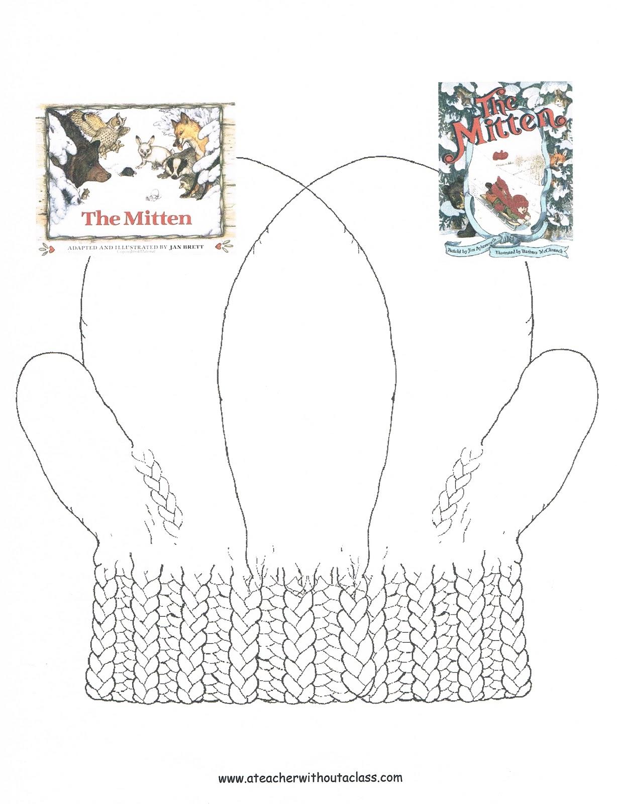 ... from the mitten by jan brett white mitten for jan brett s the mitten