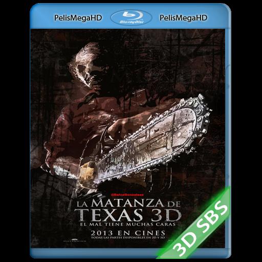 LA MASACRE DE TEXAS 3D (2013) 3D SBS 1080P HD MKV ESPAÑOL LATINO