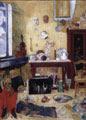 James Ensor (40) - Esqueletos en el estudio (1900)