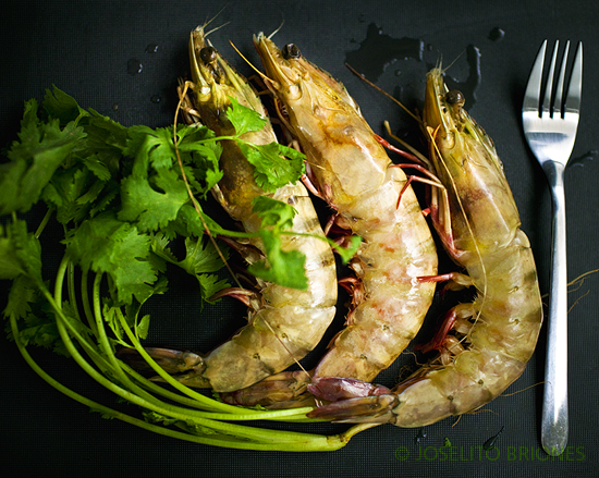king prawns - photo by Joselito Briones