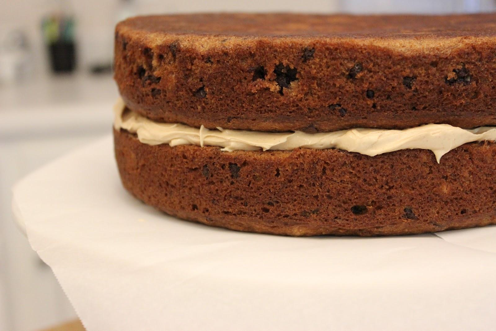 good gracious ______: chocolate chip peanut butter banana cake