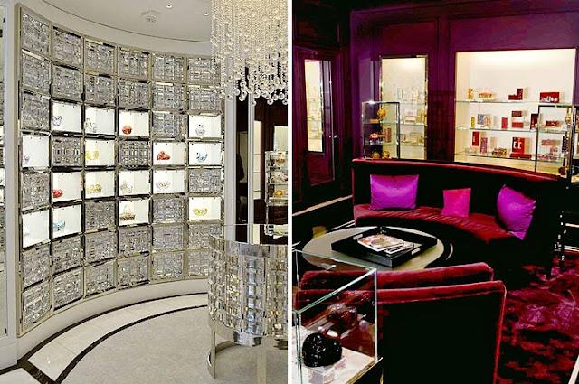 Elegancia y glamour en dise o de tienda de bolsos en for Accesorios decoracion online