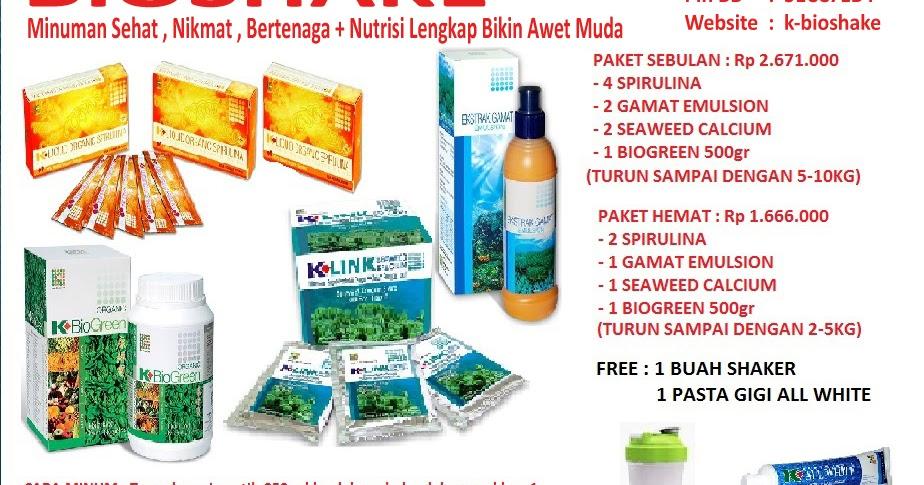 Paket BIOSHAKE ( Nutrisi Lengkap Untuk Hidup Sehat) | BioShake