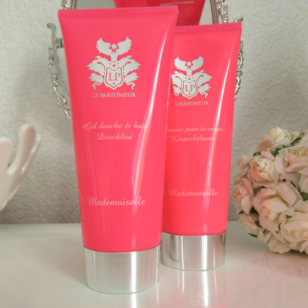 Le Parfumeur Mademoiselle Duschbad und Körperbalsam