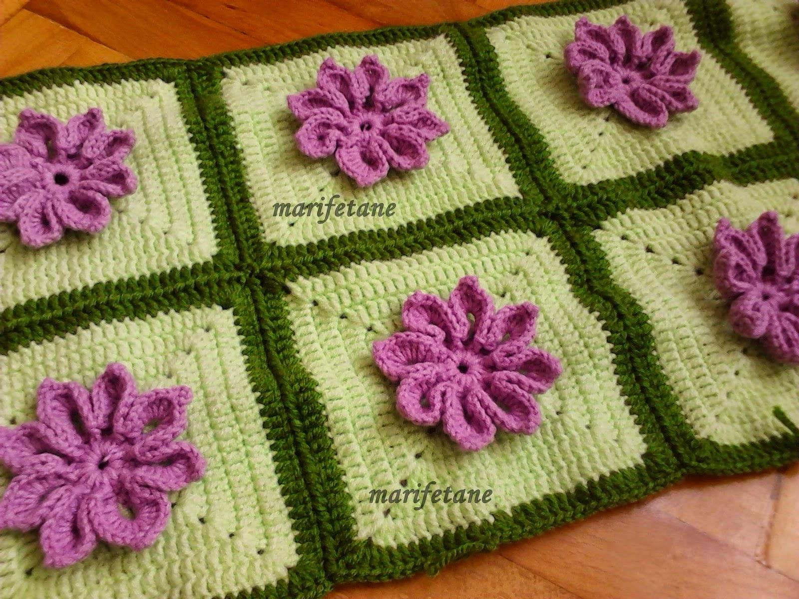 Yeni motifli battaniye