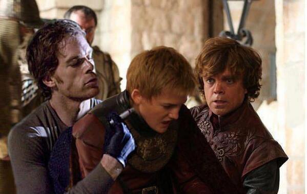 Dexter Morgan Joffrey - Juego de Tronos en los siete reinos