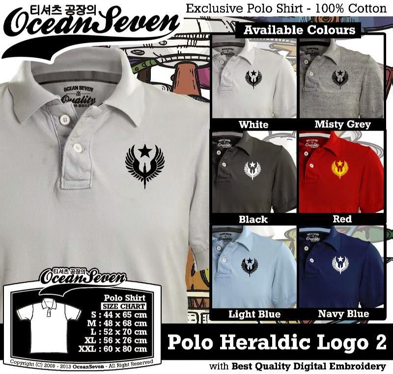Kaos Polo Heraldic Logo 2