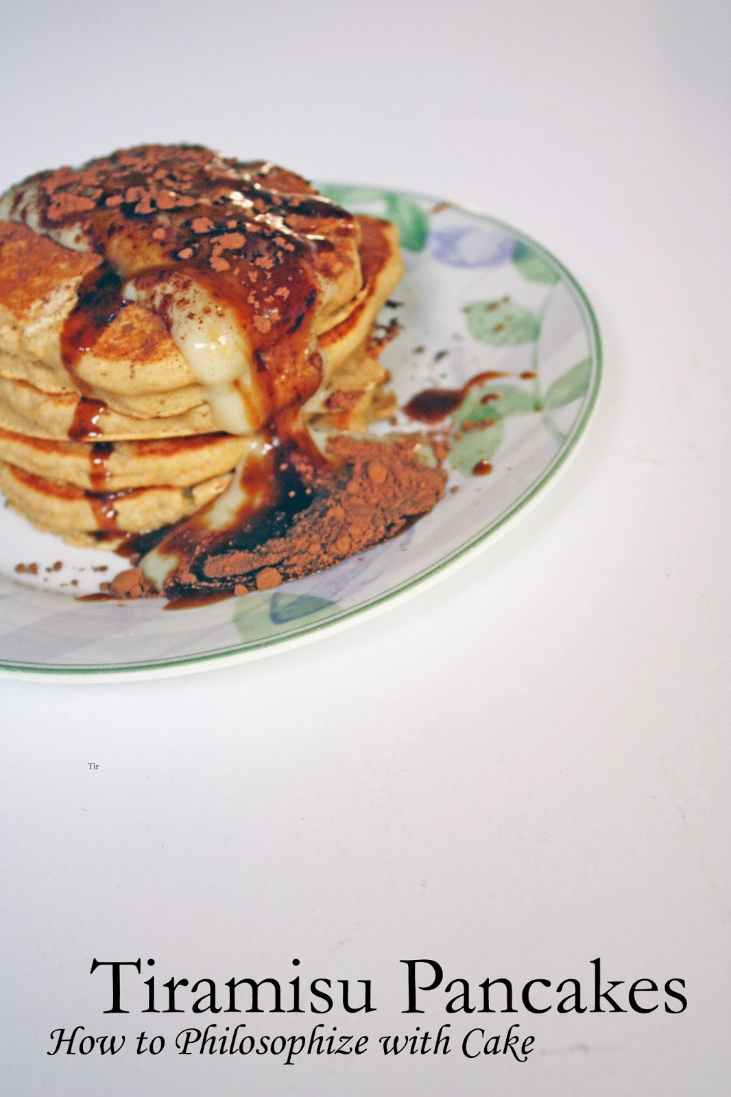 vegan tiramisu pancakes how to philosophize with cake