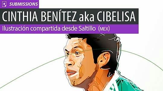 Ilustración. Oribe Peralta de CINTHIA BENÍTEZ aka Cibelisa