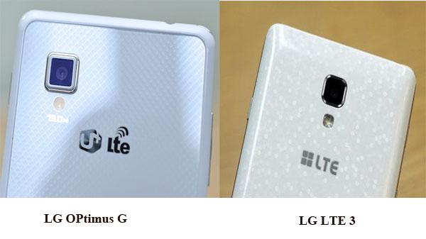 camera của LG LTE 3 và LG Optimus G