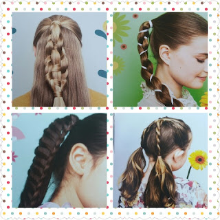 DISNEY FROZEN FEVERHAIRSTYLES sample braid and ponies