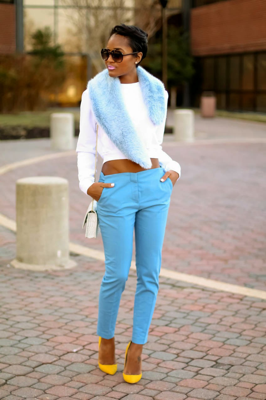 blue-faux-fur-stole