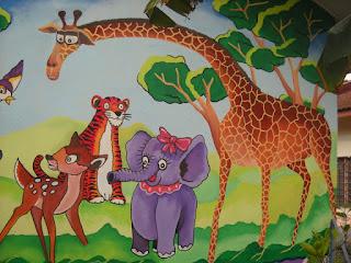 Pelukis mural shah alam tadika sayang ummi for Mural sekolah rendah