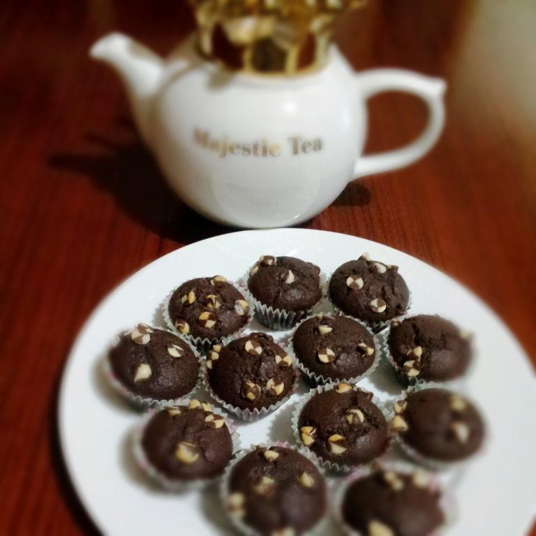 mini choc muffin