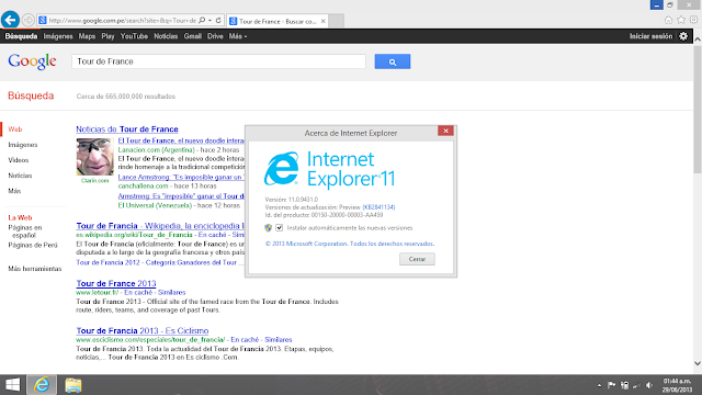 Windows 8.1 Enterprise IE 11