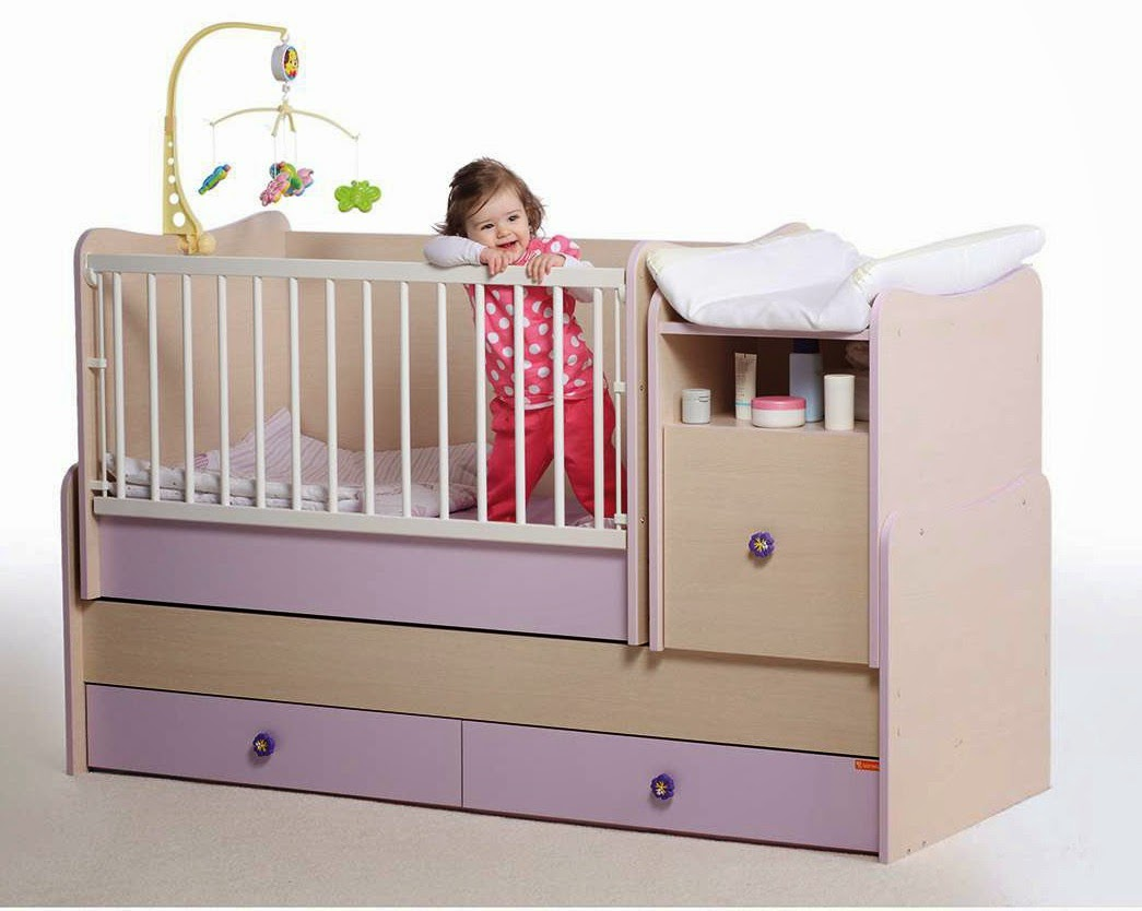 Gordijn Babykamer Babykamers : Transformeerbare babykamers en in met schommel systeem