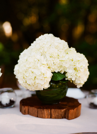 Jours de bonheur 01 12 12 for Centre table bois flotte fleurs