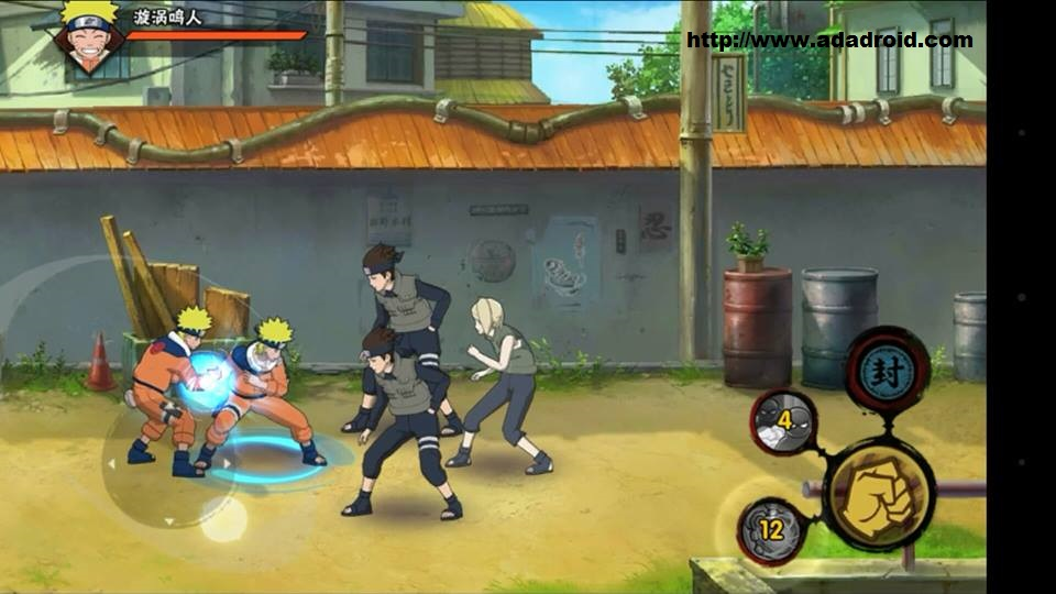 download naruto mobile fighter game