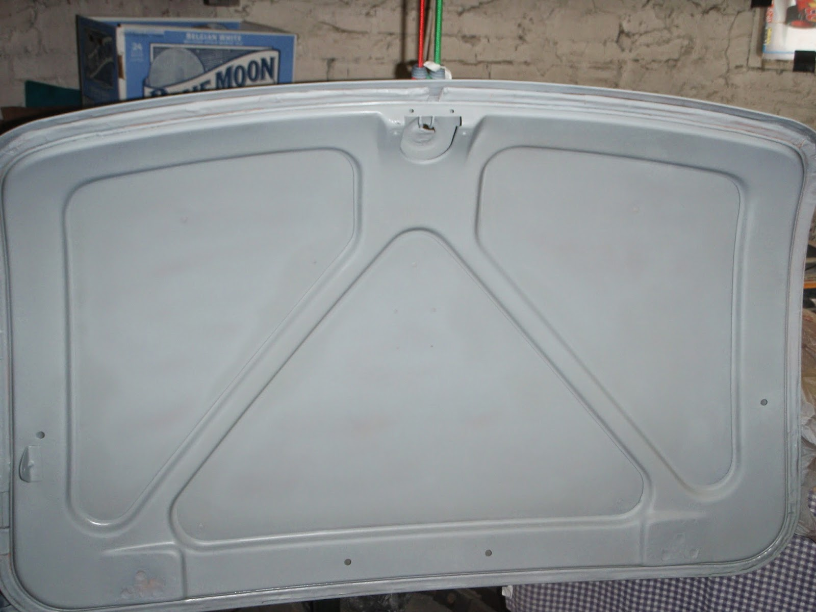 Mgb In The Garage Bodywork And Paint Continues