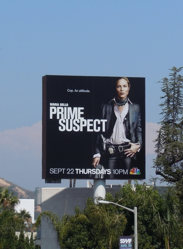 Prime Suspect USA remake billboard