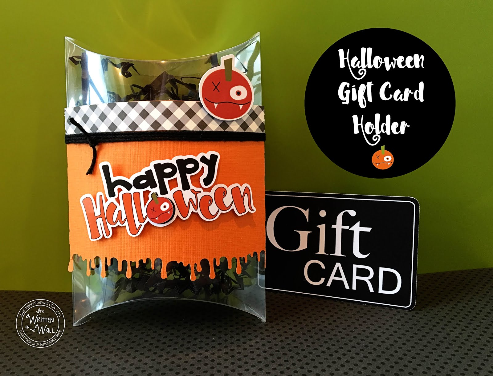 Halloween Gift Card Holder for Everyone!