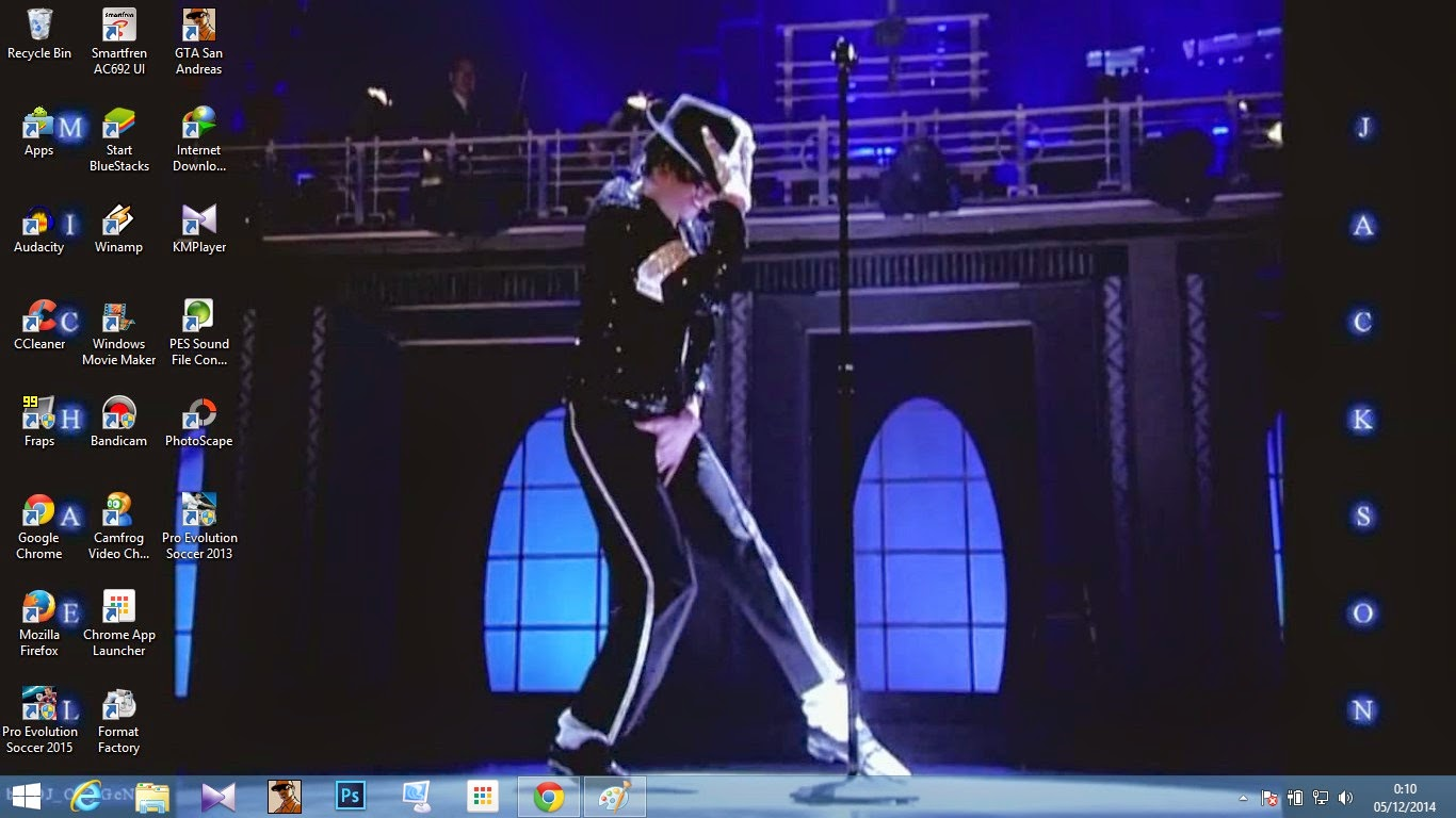 Windows 8.1 Michael Jackson