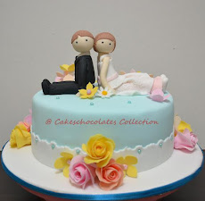 Fondant Hantaran + Bride & Groom