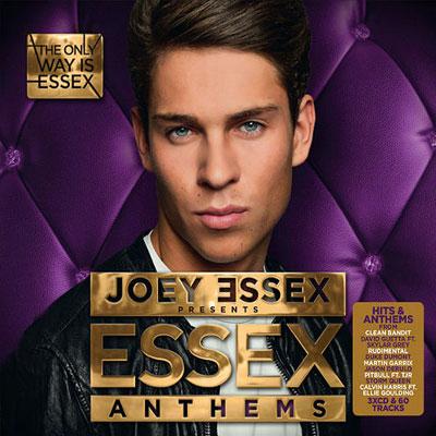 The 10 Worst Album Cover Artworks of 2014: 05. Joey Essex - Essex Anthems