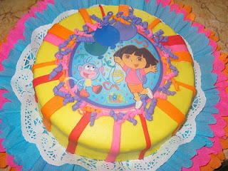 Dora the explorer cakes for children parties