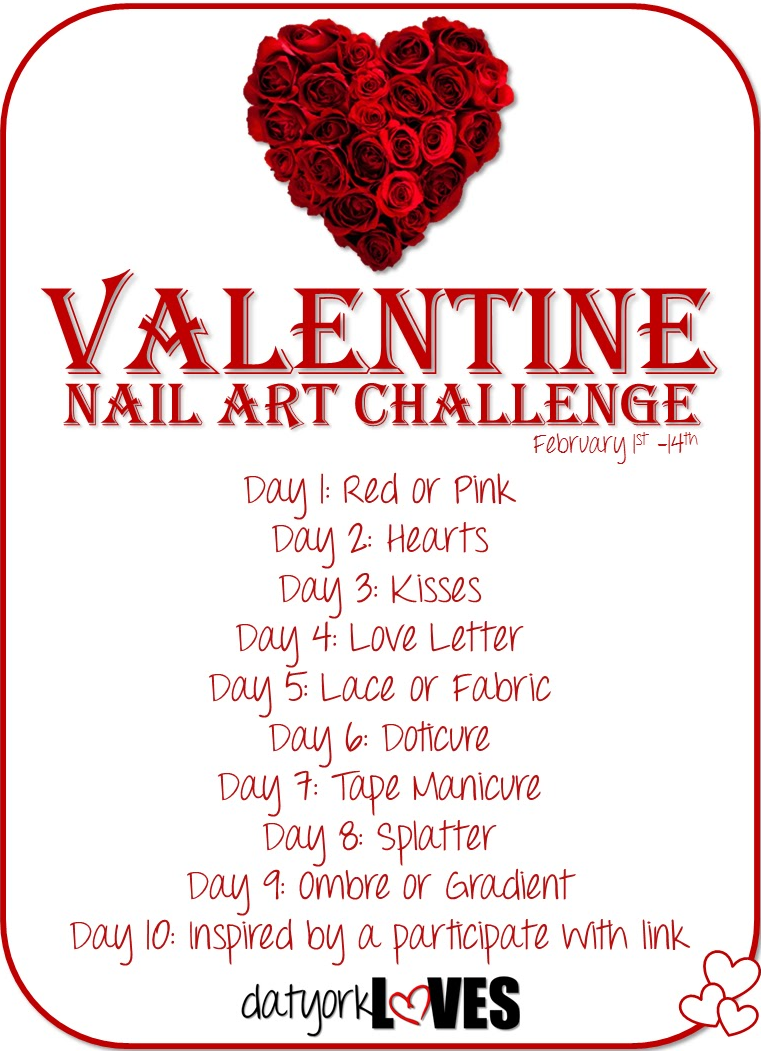 valentine nail art challenge host datyorkloves