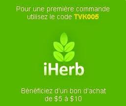 1ere commande iHerb